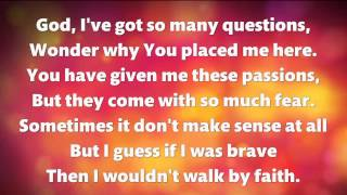 JOSH WILSON - Here I am Anyway (with lyrics)