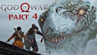 God Of War Walkthrough Part 4 - The World Serpent | PS4 Pro Gameplay