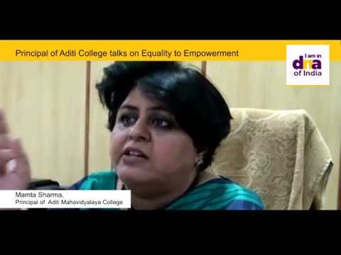 Aditi Mahavidyalaya, new Delhi video cover1