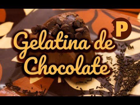 Vídeo Gelatina de chocolate