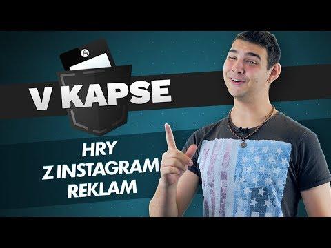 V KAPSE #9: Mobilní hry z Instagram reklam