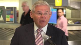 Menendez: United Incident a Wakeup Call for Entire Airline Industry