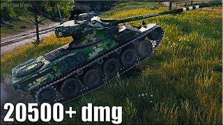 20500+ dmg ЛИНИЯ ФРОНТА 🌟 World of Tanks Lorraine 40 t