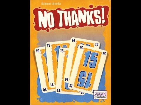 The Purge # 1300: No Thanks!:  A quick, easy to learn/play card game of bidding
