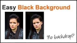 Easy Black Background