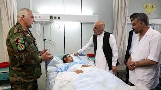 Taliban takes credit for attack at Afghan base