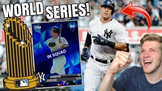 World Series Grind! Diamond Aaron Judge Leads The Way! MLB The Show 18 Ranked Seasons - Video Youtube