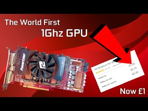 "The World First ""1Ghz GPU"" is now £1 // A Review of the HD 4890"