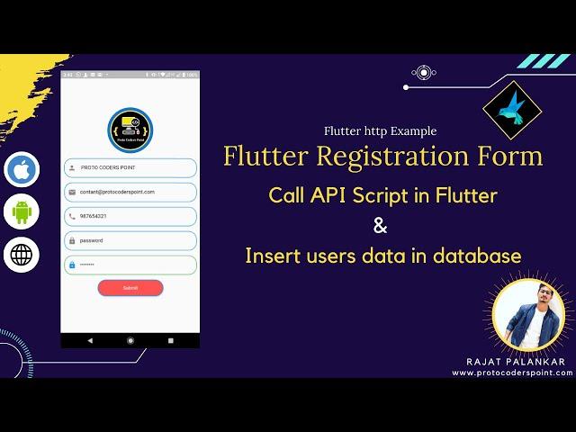 Flutter representation of a Social App Concept. JideGuru  Full Script Code
