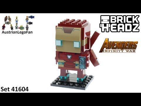 Vidéo LEGO BrickHeadz 41604 : Iron Man MK50