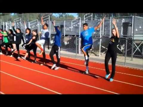 Long Jump Teaching Progression - Narrated
