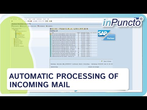 Automated processing of incoming mail