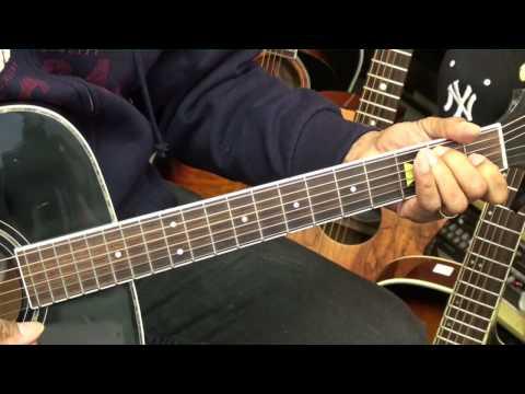 Old School 12 Bar Blues Guitar Lesson #8 Eric Clapton Style Chords EricBlackmonMusicHD