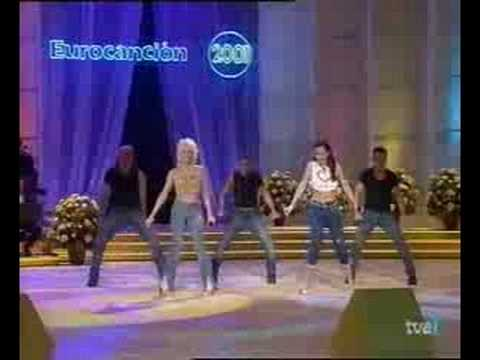 """Sonia y Selena - """"Yo quiero bailar"""" (Live at TVE)"""