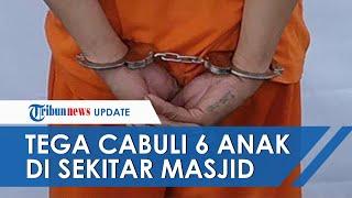 Kesepian Istri Tinggal di Kampung, Oknum Guru di Bandung Tega Cabuli 6 Anak di Lingkungan Masjid