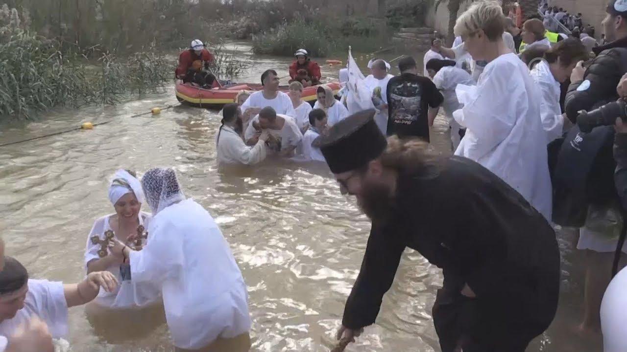Ο εορτασμός των Θεοφανίων στην Ιεριχώ