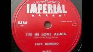 Fats Domino - I'm in love again (1956)