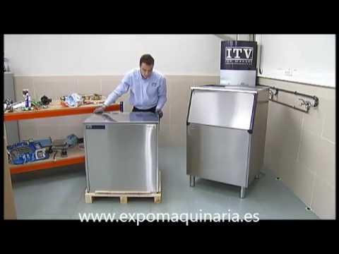 Como instalar una maquina de hielo