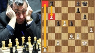 This One's For Carlsen! | Ivanchuk vs Kramnik | Candidates Tournament 2013. | Round 14