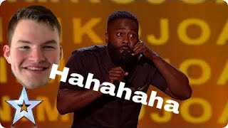 Kojo Britain's Got Talent 2019 Semifinals Reaction!