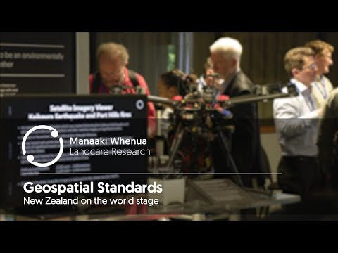 Geospatial Standards NZ on the World Stage