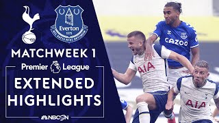 Tottenham v. Everton | PREMIER LEAGUE HIGHLIGHTS | 9/13/2020 | NBC Sports