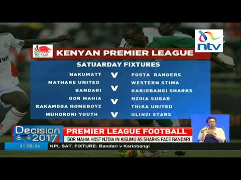 Gor Mahia host Nzoia in Kisumu as Sharks face Bandari