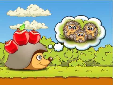 Video of Hedgehog – Lost apples