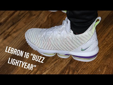 "FIRST LOOK: NIKE LEBRON 16 ""BUZZ LIGHTYEAR"" (ON FOOT)"