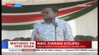 'This initiative between you and Raila  is going to be a game changer' James Orengo on Handshake