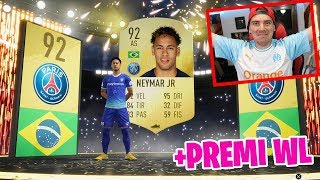 NEYMAR IN A PACK!! + PREMI WEEKEND LEAGUE & RIVALS! IL MIO MIGLIOR PACK OPENING!!! FIFA 19