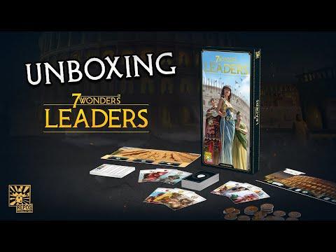 Spieletrailer 7 Wonders - Leaders - Vorschaubild