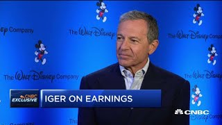 Full interview with Disney CEO on Q4 earnings