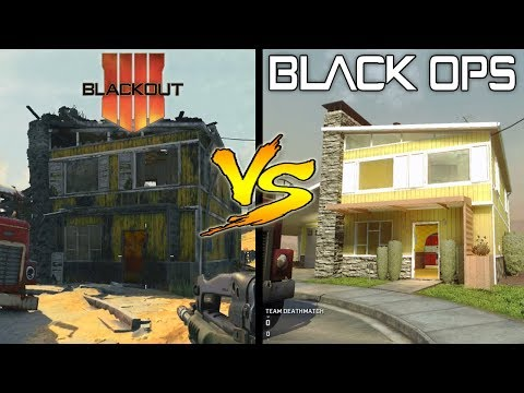 Blackout Maps Vs Original Maps –  Map Comparison