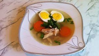 Куриный Бульон / Chicken Bouillon / Бульон / Бульон из Домашней Курицы / Простой Рецепт