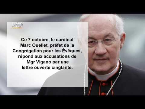 Lettre ouverte du cardinal Ouellet à Mgr Vigano : décryptage