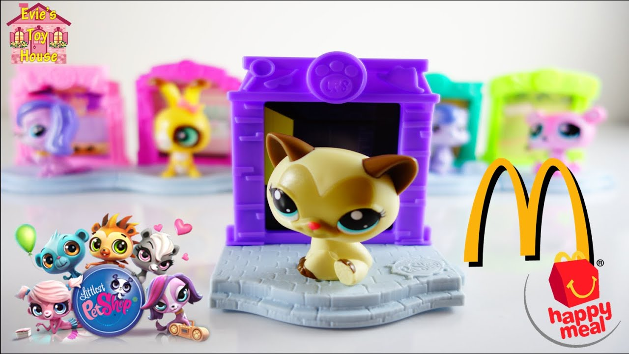 2015 LPS Littlest Pet Shop - McDonalds Happy Meal Complete Set