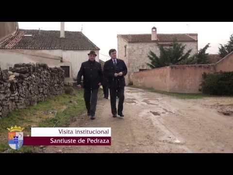 Diputación de Segovia - Visita institucional a Santiuste de Pedraza