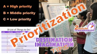 Prioritization Method