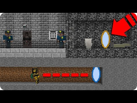 Massi Encuentra Un Portal Para Escapar De La Prision En Minecraft