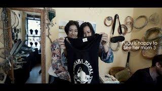 Dixita meeting her Mom after long    PapaPugu Pokhara Trip   