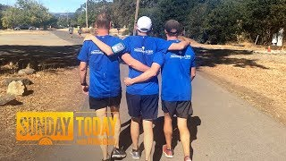 These Men, Strangers 1 Year Ago, Run Half-Marathon Together After Accident | Sunday TODAY