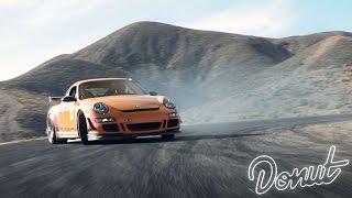 Drifting a Porsche 911 GT3 RS w/ D Rawberts   Donut Media