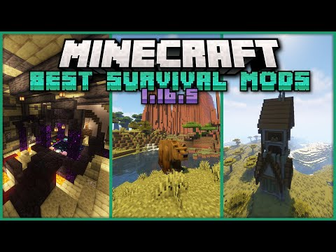 Top 20 Mods that Make Minecraft Survival Even Better! [1.16.5][Forge]