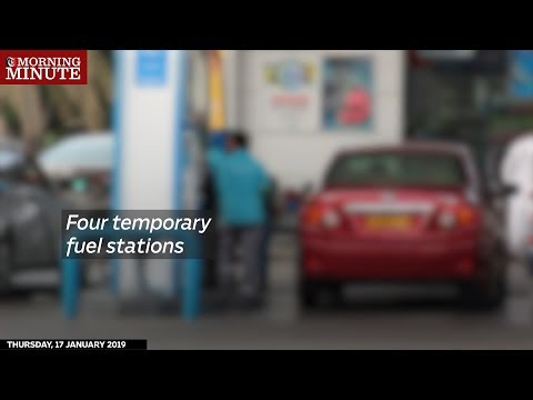 Four mobile fuel stations