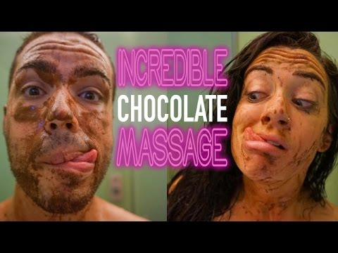 INCREDIBLE CHOCOLATE MASSAGE - Cologne, Germany