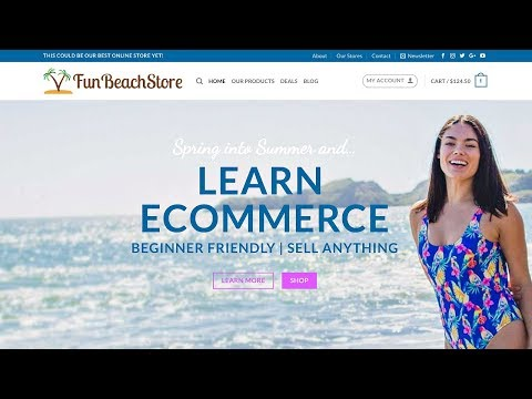 Beginner eCommerce Website WordPress Tutorial - EASY!