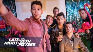 Seth and the Jonas Brothers Go Day Drinking