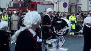 preview picture of video 'Karneval Umzug Plauen 2013'