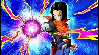 THE NEWEST DEFENSIVE FORCE! F2P AGL HELL FIGHTER 17 SHOWCASE! (DBZ: Dokkan Battle)